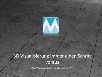 3D Visualisierung Immer Einen Schritt Voraus - Meine Produktvisualisierung