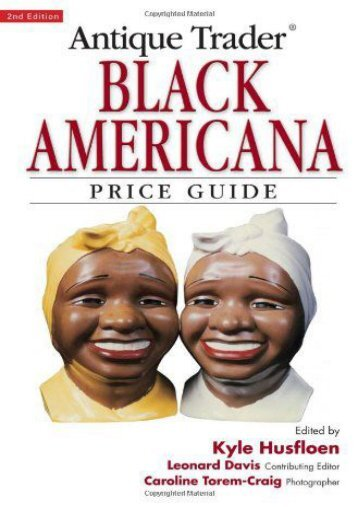 Antique Trader Black Americana Price Guide (Antique Trader s Black Americana Price Guide) ()