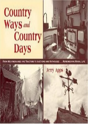 Country Ways and Country Days (Jerry Apps)