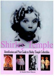 Shirley Temple: Identification and Price Guide to Shirley Temple Collectibles (Suzanne Mancuso)