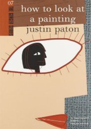 How to Look at a Painting (The Ginger series) (Justin Paton)
