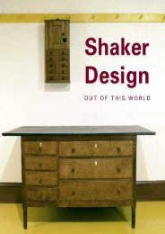 Shaker Design: Out of this World (Published in Association with the Bard Graduate Centre for Studies in the Decorative Arts, Design and Culture) (Jean Burks)