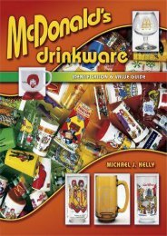 McDonald s Drinkware: Identification   Value Guide (Identification   Values (Collector Books)) (Michael J. Kelly)