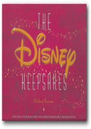 The Disney Keepsakes (Robert Tieman)