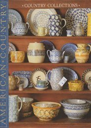 Country Collections: Ideas for Collecting and Displaying Antiques and Other Country Treasures (American Country) (Time-Life Books)
