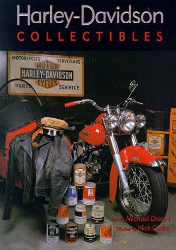 Harley-Davidson Collectibles (Nick Cedar)