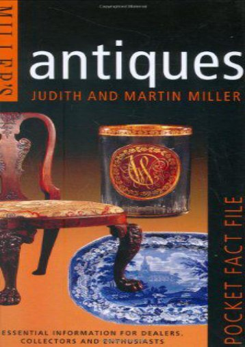 Miller s Pocket Fact File: Antiques: Essential Information for Dealers, Collectors and Enthusiasts (Judith Miller)