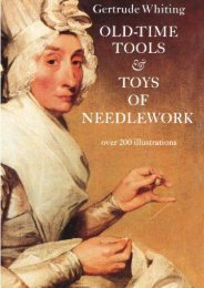 Old-Time Tools   Toys of Needlework (Gertrude Whiting)