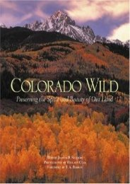 Colorado Wild (Natural World) (Judith B. Sellers)