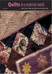 Quilts in a Material World: Selections from the Winterthur Collection (Linda Eaton)