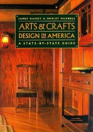 Arts and Crafts Design in America: A State-by-State Guide (James Massey)