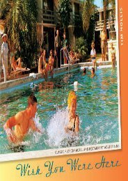 Wish You Were Here: Classic Florida Motel and Restaurant Advertising (Tim Hollis)