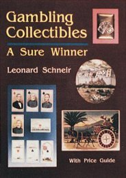 Gambling Collectibles a Sure Winner (Leonard Schneir)
