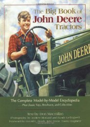 The Big Book of John Deere Tractors: The Complete Model-By-Model Encyclopedia, Plus Classic Toys, Brochures, and Collectibles (John Deere (Voyageur Press)) (Don MacMillan)