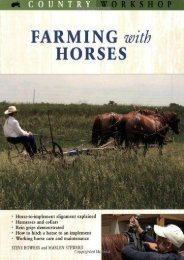 Farming with Horses (Country Workshop) (Steve Bowers)