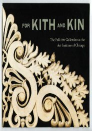 For Kith and Kin: The Folk Art Collection at the Art Institute of Chicago (Judith A. Barter)