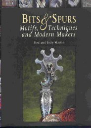 Bits   Spurs: Motifs, Techniques and Modern Makers (Ned Martin)
