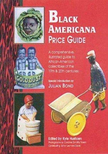 Black Americana: Price Guide (Antique Trader s Black Americana Price Guide) ()