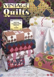 Vintage Quilts Collecting, Dating, Preserving and Appraising (Bobbie Aug)