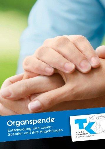 Organspende - Techniker Krankenkasse