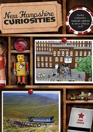 New Hampshire Curiosities: Quirky Characters, Roadside Oddities   Other Offbeat Stuff (Curiosities Series) (Eric Jones)