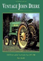 Vintage John Deere (John Deere (Voyageur Press)) (Dave Arnold)