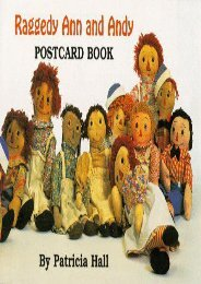 Raggedy Ann and Andy Postcard Book (Patricia Hall)