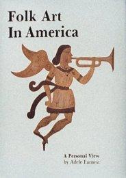 Folk Art in America (Adele Earnest)