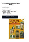 General Store Collectibles (David L. Wilson) - Page 2