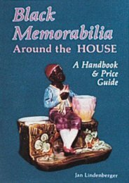 Black Memorabilia Around the House: A Handbook and Price Guide (Schiffer Book for Collectors) (Jan Lindenberger)