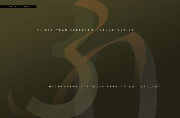T Retrospective - Division of Fine Arts - Midwestern State University