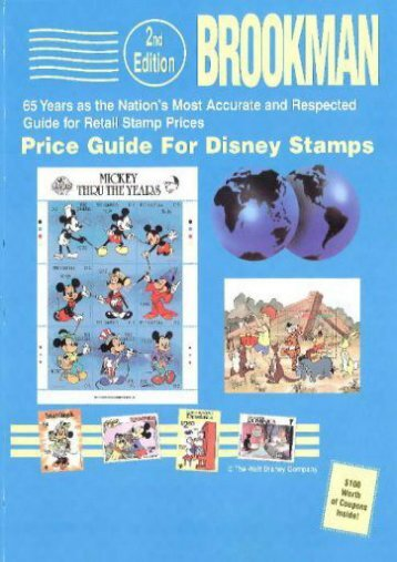 Brookman Price Guide for Disney Stamps ()