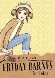 Friday Barnes 4: No Rules (R.A. Spratt)