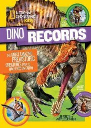 Dino Records: The Most Amazing Prehistoric Creatures Ever to Have Lived on Earth! (Dinosaurs) (National Geographic Kids)