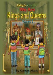 We are Kings and Queens volume 1 (Kareem Alexis)