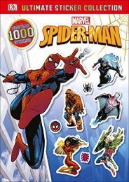Ultimate Sticker Collection: Spider-Man (Julia March)