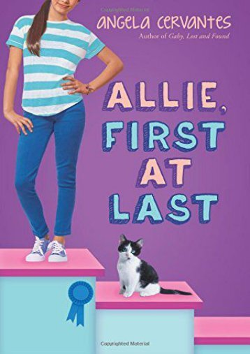 Allie, First at Last (Angela Cervantes)