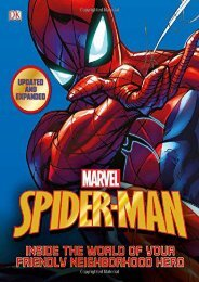 Spider-Man: Inside the World of Your Friendly Neighborhood Hero, Updated Edition (DK Publishing)