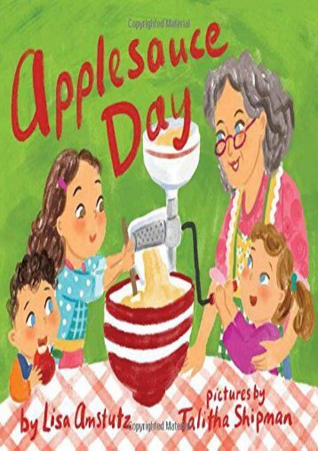 Applesauce Day (Lisa Amstutz)