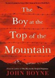 The Boy at the Top of the Mountain (John Boyne)