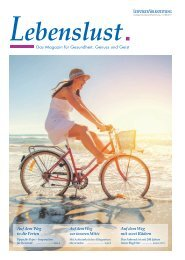 Lebenslust Mai 2017   Das Magazin für Gesundheit, Genuss und Geist