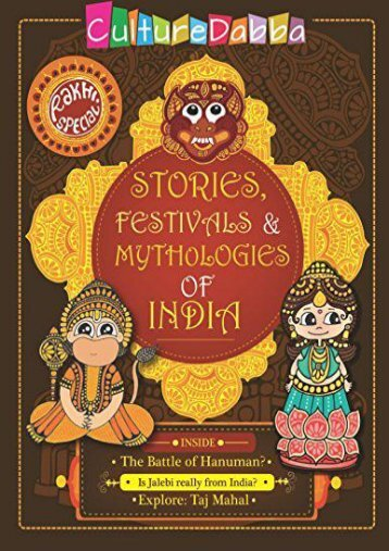 Rakhi Special - Stories, Festivals and Mythologies of India (Team CultureDabba)