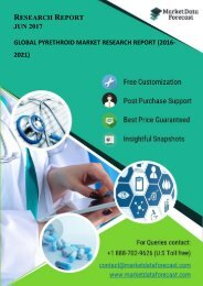 Global Pyrethroid Market Research Reports