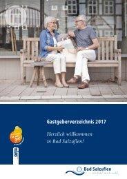 Staatsbad Salzuflen - Gastgeberverzeichnis 2017