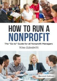 How to Run a Nonprofit: The