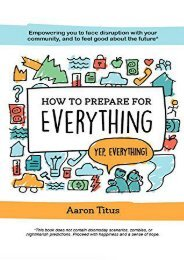 How to Prepare for Everything (Aaron Titus)
