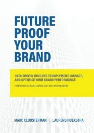Future Proof Your Brand: Data-Driven Insights to Implement, Manage, and Optimise Your Brand Performance (Marc Cloosterman)