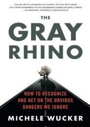 THE GRAY RHINO (Michele Wucker)