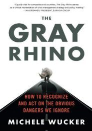 THE GRAY RHINO (Michele Wucker)