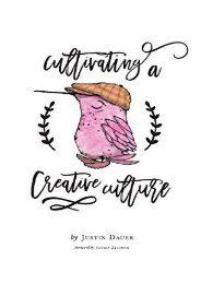 Cultivating a Creative Culture (Justin Dauer)